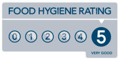 5* Food Standards Authority Food Hygiene Rating