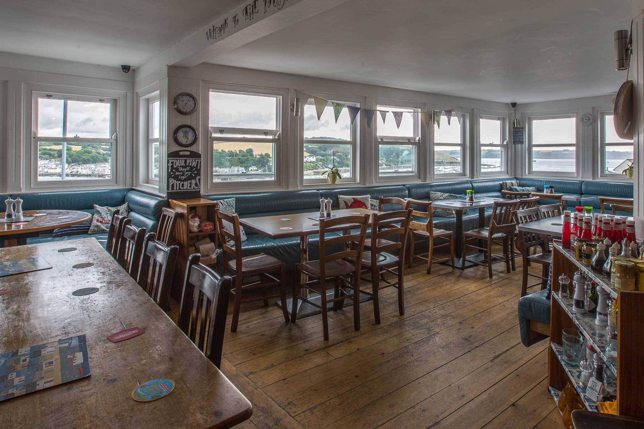 Falmouths Best Sea View Pub And Restaurant The Boathouse