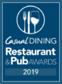 2019 National Winner – The Casual Dining Restaurant & Pub Awards